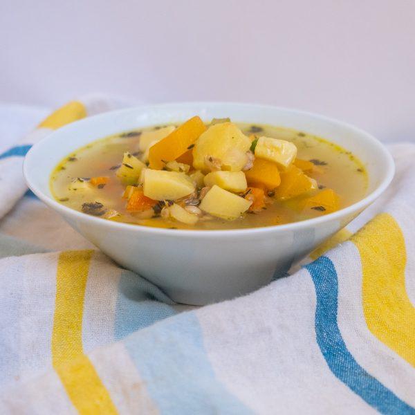 Forgotten Root Vegetable Soup