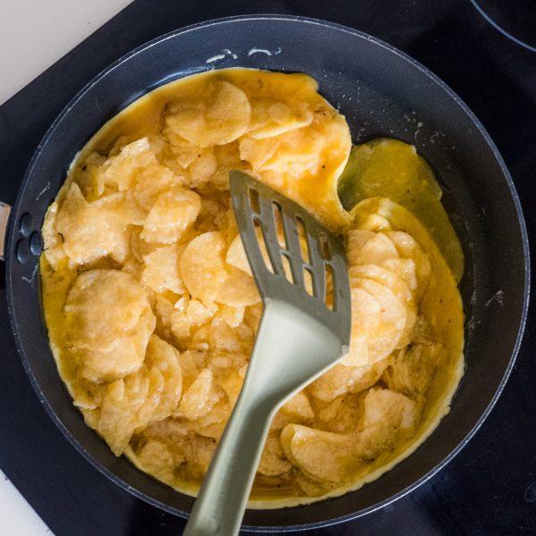 Potato Chip Tortilla Española, TGIF