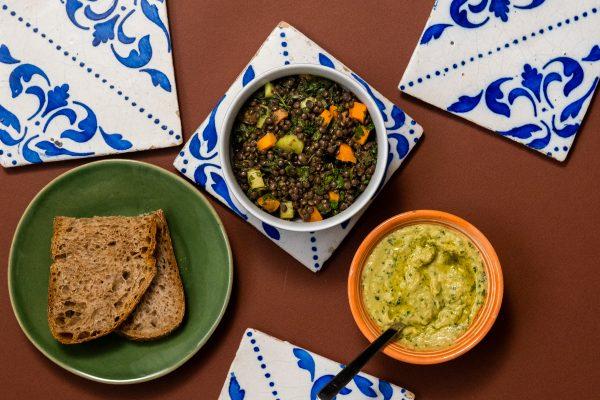 Lentil Salad and the Benefits of Land Restoration