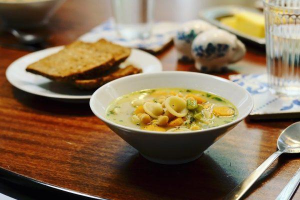 Healing Chickpea Noodle Soup