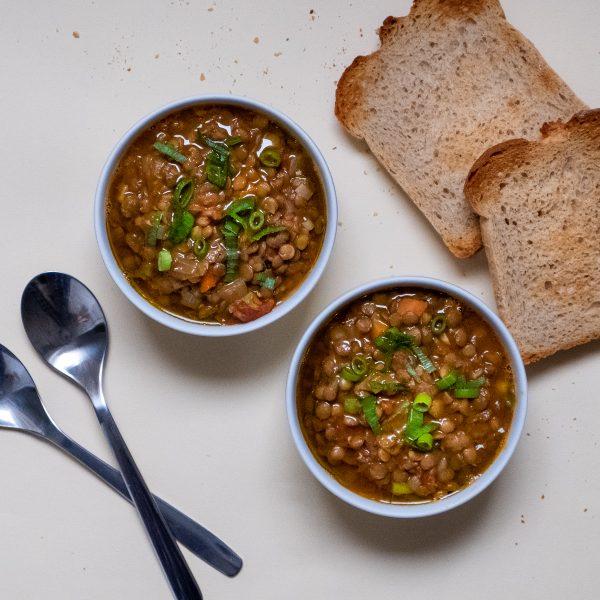 The Most Forgiving Lentil Stew