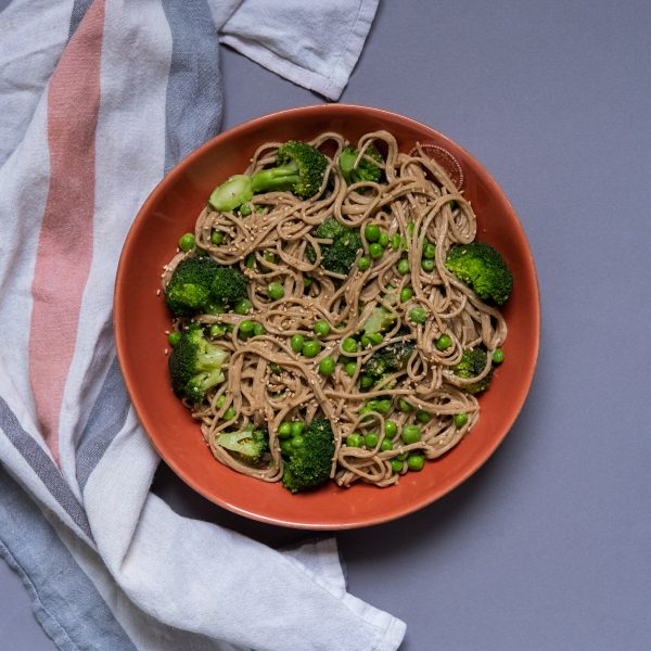 I Can't Believe They're Vegan, Peanut Butter Soba Noodles